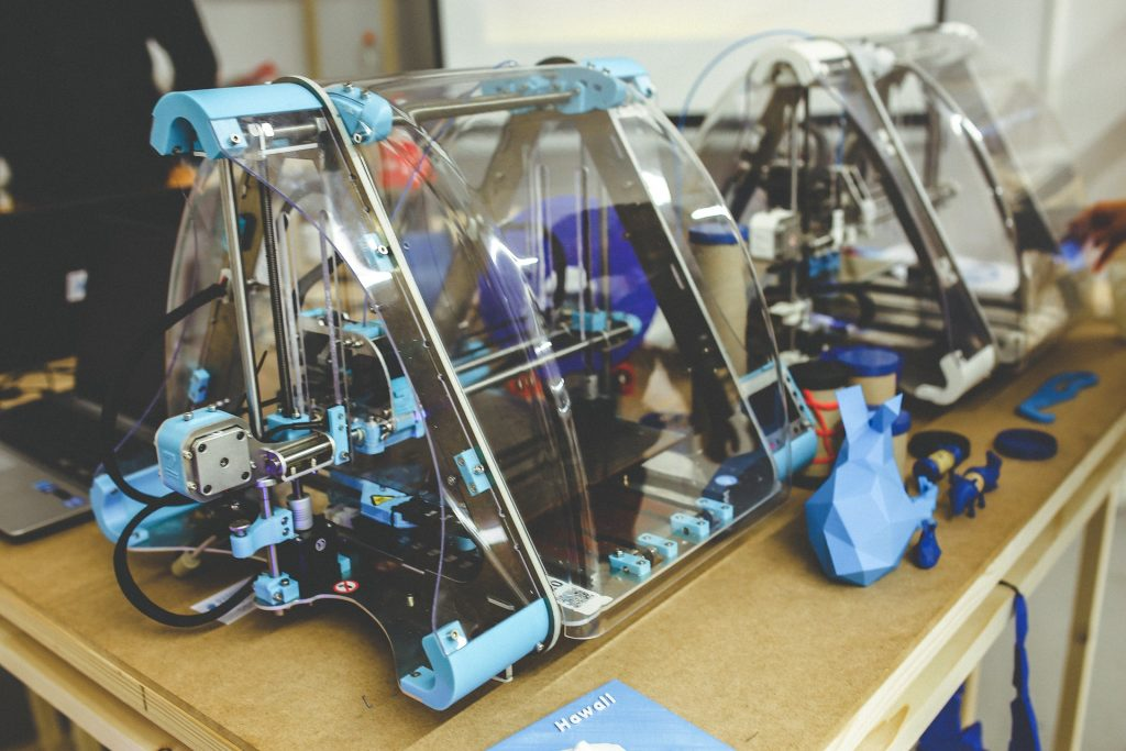 how does a 3d printer work